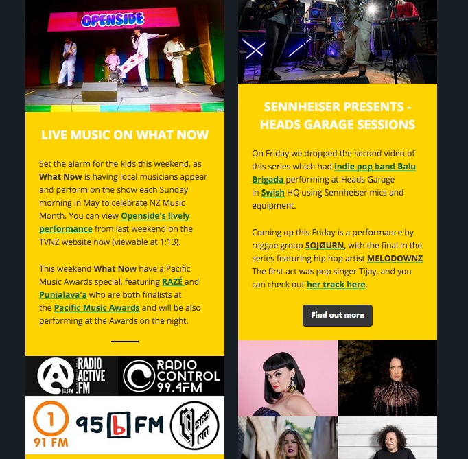 NZ Music Month Newsletter No  4 Out Now • New Zealand Music